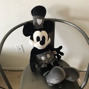 Disney Mickey Mouse Steamboat Willie plush